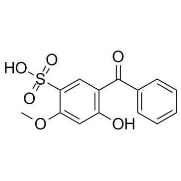 2-Hydroxy-4-Methoxybenzophenone-5-Sulfonic Acid