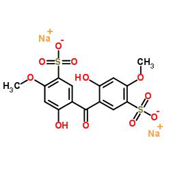 2,2'-ジヒドロキシ-4,4'-ジメトキシベンゾフェノン-5,5'-ジスルホン酸ナトリウム