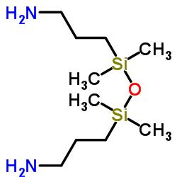 3-[[3-アミノプロピル(ジメチル)シリル]オキシ-ジメチルシリル]プロパン-1-アミン
