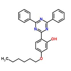 2-(4,6-Diphenyl-1,3,5-triazine-2-yl)-5-[(hexyl)oxy]phenol