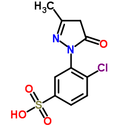 1-(2'-クロロ-5'-スルホフェニル)-3-メチル-5-ピラゾロン