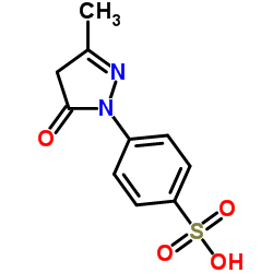 3-Methyl-1-(4-sulfophenyl)-2-pyrazolin-5-one