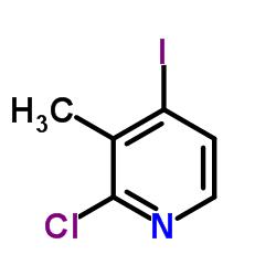 2-Chloro-4-iodo-3-methylpyridine