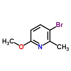 3-Bromo-6-methoxy-2-methylpyridine