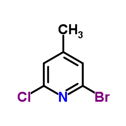 2-Bromo-6-chloro-4-methylpyridine