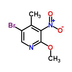 5-Bromo-2-methoxy-4-methyl-3-nitropyridine