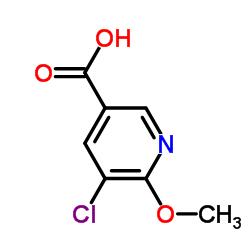 5-Chloro-6-methoxynicotinic acid