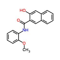 3-ヒドロキシ-N-(2-メトキシフェニル)-2-ナフトアミド