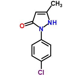 1-(4-クロロフェニル)-3-メチル-2-ピラゾリン-5-ワン