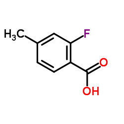 2-Fluoro-4-methylbenzoic acid