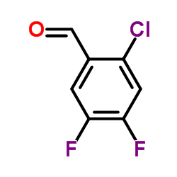 2-Chloro-4,5-difluorobenzaldehyde