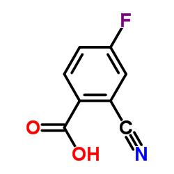 2-Cyano-4-fluorobenzoic acid