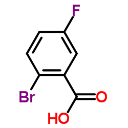 2-Bromo-5-fluorobenzoic acid
