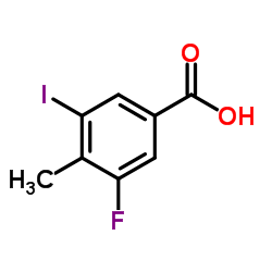 3-fluoro-5-iodo-4-methylbenzoic acid