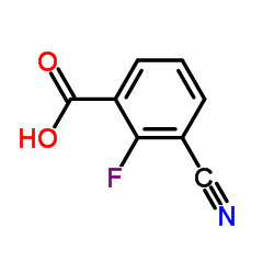 3-Cyano-2-fluorobenzoic acid