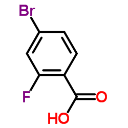 4-Bromo-2-fluorobenzoic acid