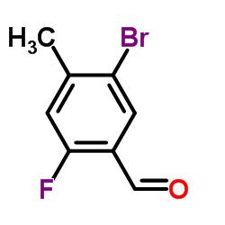 5-Bromo-2-fluoro-4-methylbenzaldehyde