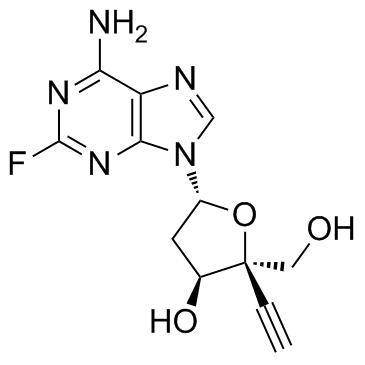 4'-ethynyl-2-fluoro-2'-deoxyadenosine