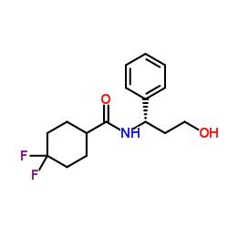 4,4-Difluoro-N-[(1S)-3-hydroxy-1-phenylpropyl]cyclohexanecarboxamide