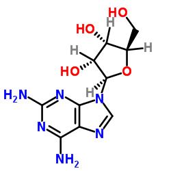 9H-Purine-2,6-diamine, 9-.β.-D-ribofuranosyl-