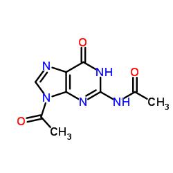 N-(9-acetyl-6-oxo-3H-purin-2-yl)acetamide