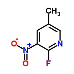 2-フルオロ-5-メチル-3-ニトロピリジン