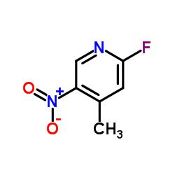 2-Fluoro-4-methyl-5-nitropyridine