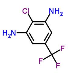2-chloro-5-(trifluoromethyl)benzene-1,3-diamine