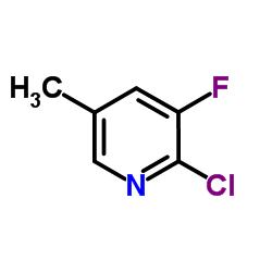 2-クロロ-3-フルオロ-5-メチルピリジン