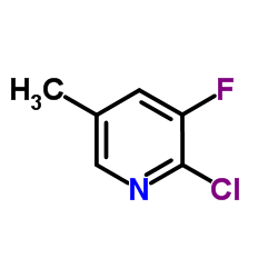 2-Chloro-3-fluoro-5-methylpyridine
