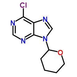 6-Chloro-9-(tetrahydropyran-2-yl)purine