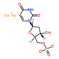 2'-Deoxyuridine 5'-mono-phos-phate disodium salt