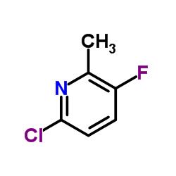 2-クロロ-5-フルオロ-6-メチルピリジン