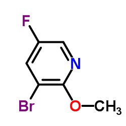 3-Bromo-5-fluoro-2-methoxypyridine