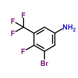 3-bromo-4-fluoro-5-(trifluoromethyl)aniline