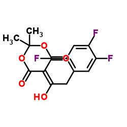 5-[1-hydroxy-2-(2,4,5-trifluorophenyl)ethylidene]-2,2-dimethyl-1,3-dioxane-4,6-dione