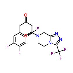 1- [3-(トリフルオロメチル)-6,8-ジヒドロ-5H- [1,2,4]トリアゾロ[4,3-a]ピラジン-7-イル] -4-(2,4,5-トリフルオロフェニル)ブタン-1,3-ジオン