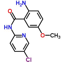 2-amino-N-(5-chloropyridin-2-yl)-5-methoxybenzamide