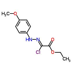 ethyl (2Z)-2-chloro-2-[(4-methoxyphenyl)hydrazinylidene]acetate