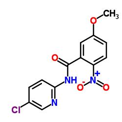 N-(5-クロロピリジン-2-イル)-5-メトキシ-2-ニトロベンズアミド