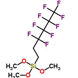 Trimethoxy(1H,1H,2H,2H-perfluorohexyl)silane