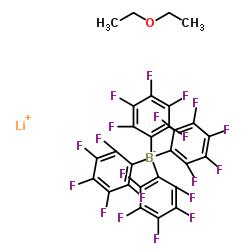 Lithium tetrakis(pentafluorophenyl)borate ethyl etherate