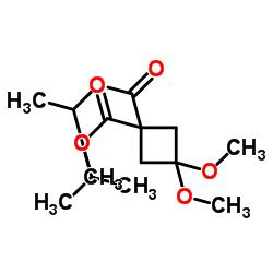 3,3-ジメトキシシクロブタン-1,1-ジカルボン酸ジイソプロピル