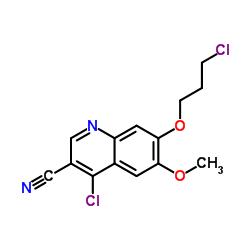 4-Chloro-7-(3-chloropropoxy)-6-methoxyquinoline-3-carbonitrile