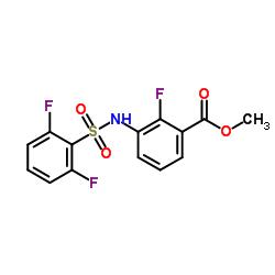 methyl 3-{[(2,6-difluorophenyl)sulfonyl]amino}-2-fluorobenzoate