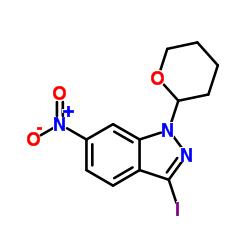 3-iodo-6-nitro-1-(oxan-2-yl)indazole