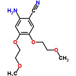 2-Amino-4,5-bis(2-methoxyethoxy)benzonitrile