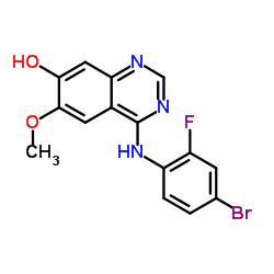 4-(4-bromo-2-fluoroanilino)-6-methoxy-1H-quinazolin-7-one