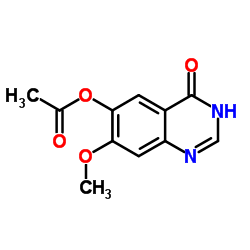 (7-methoxy-4-oxo-1H-quinazolin-6-yl) acetate