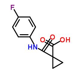 1-((4-Fluorophenyl)carbamoyl)cyclopropanecarboxylic acid